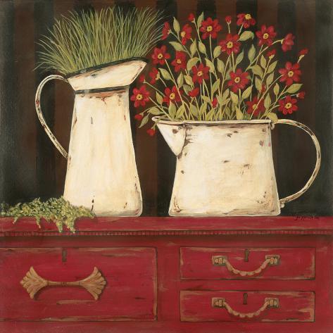 The Red Cupboard Art Print