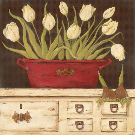 The White Cupboard Art Print