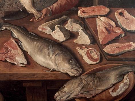 Fish Market Lámina giclée