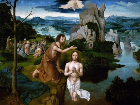 The Baptism of Christ Giclee Print