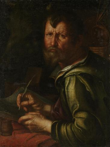 Evangelist Saint Luke Art Print