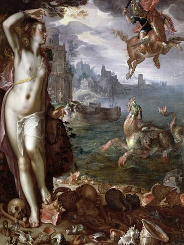 Perseus Rescuing Andromeda, 1611 Giclee Print