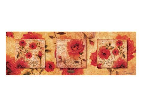 Roman Rose Gallery-Felicity Art Print