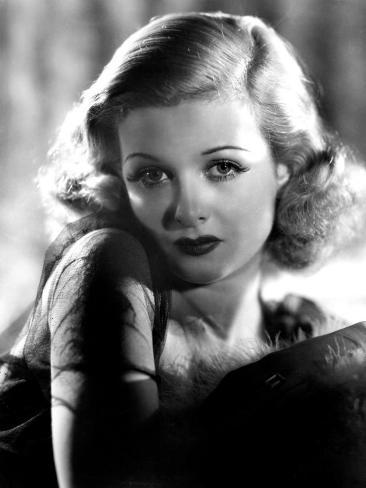 Joan Bennett, Portait, 1938 Photo