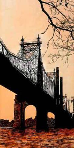 Queensboro Bridge Giclee Print