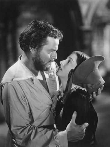 Joan Fontaine, Orson Welles, Jane Eyre, 1944 Photographic Print