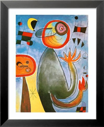 Echelles en Roue de Feu Traversant Lamina Framed Art Print