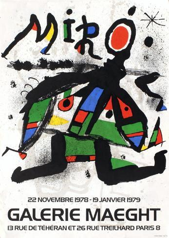 Galerie Maeght, 1979 Collectable Print