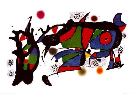 Obra de Joan Miró Impressão artística