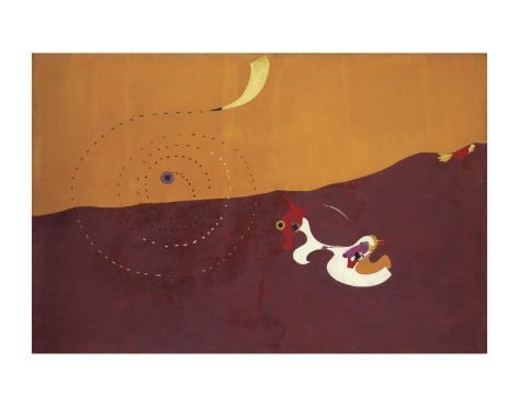 The Hare, Paysage le Lievre, Autumn 1927 Art Print