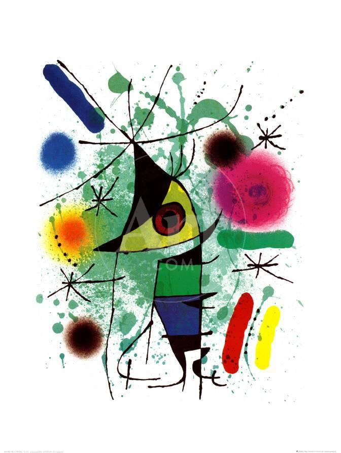The Singing Fish Prints by Joan Miró at AllPosters.com
