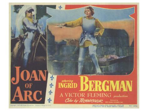 Joan of Arc, 1948 Art Print