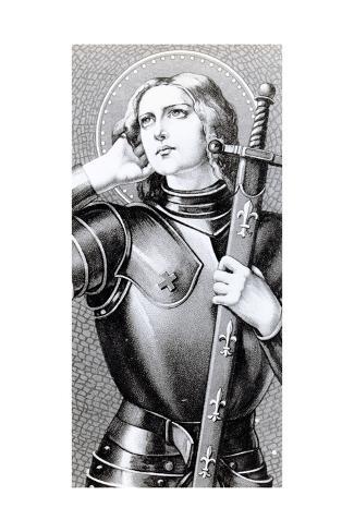 Joan of Arc, C.1900 Lámina giclée