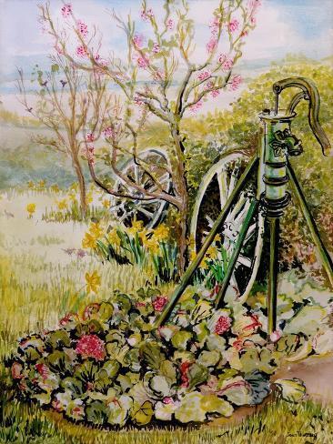 The Garden Pump, 2010 Giclee Print