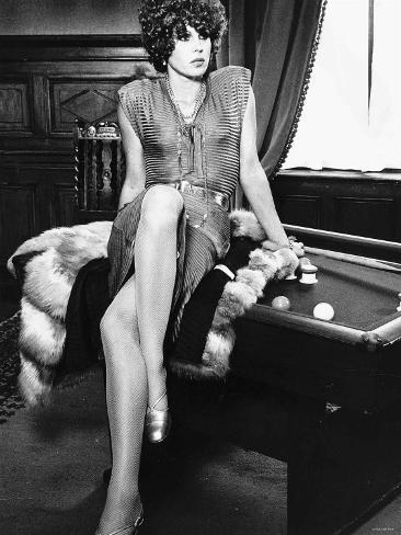 Joanna Lumley Actress in the TV Program the New Avengers Photographic Print