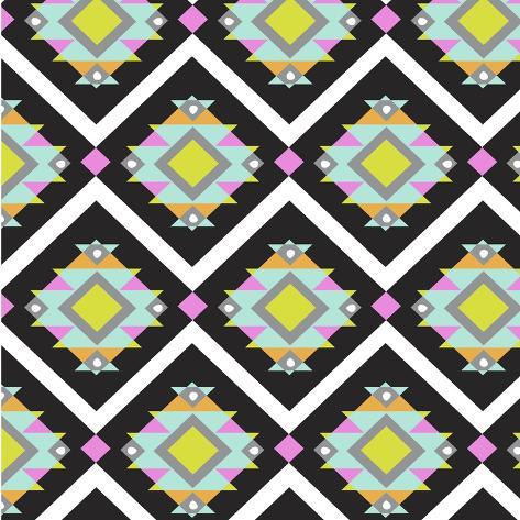 Geo Aztec Giclee Print