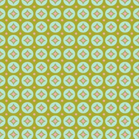 Geometric Circles Giclee Print