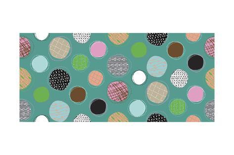 Textured Dots Giclee Print
