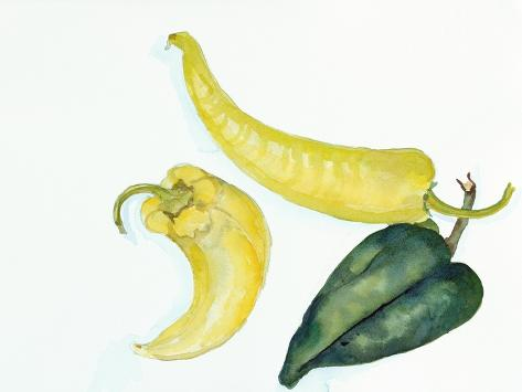 Peppers Hot and Cool Giclée-vedos