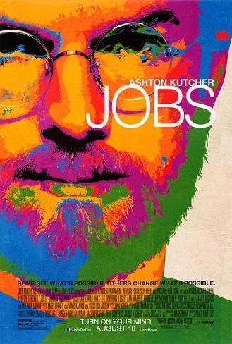Jobs (Ashton Kutcher, Dermont Mulroney, Josh Gad) Movie Poster Pôster