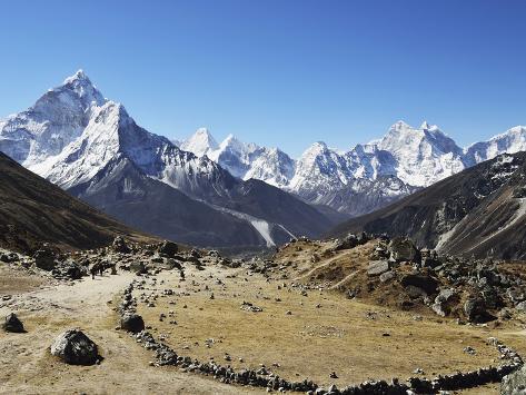 Ama Dablam, Sagarmatha Nat'l Park, UNESCO World Heritage Site, Nepal Photographic Print