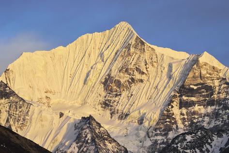 Pangen Dopku, Langtang National Park, Bagmati, Madhyamanchal, Nepal Photographic Print
