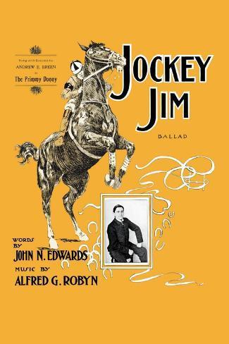Jockey Jim Ballad Wall Decal