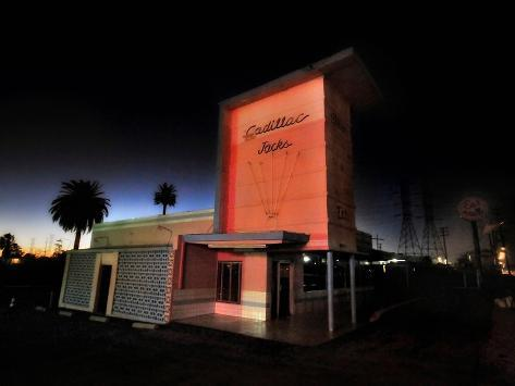 Cadillac Jacks Diner Photographic Print By Jody Miller At
