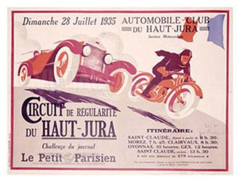 Circuit du Haut, Jura Giclee Print