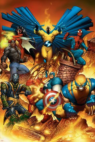 The New Avengers No.1 Cover: Spider-Man Poster
