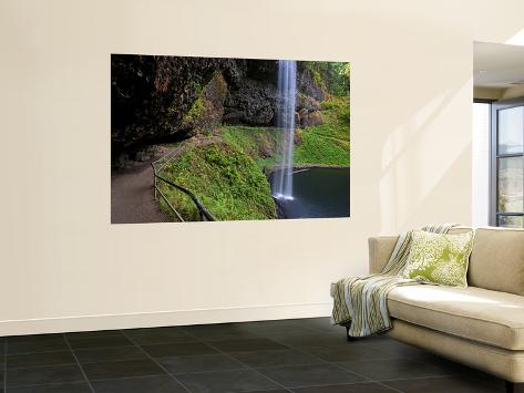 South Falls in Silver Falls State Park, Oregon, USA Wall Mural