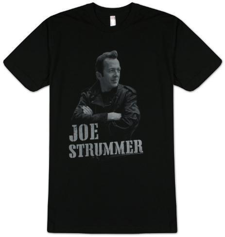 Joe Strummer - Leather Jacket T-Shirt