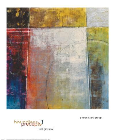 Boundless Precepts I Art Print