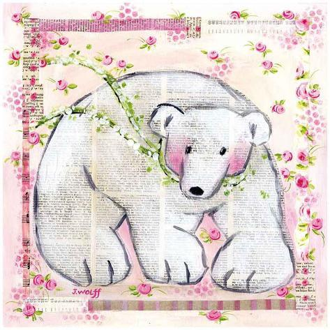 Ours Rose Art Print