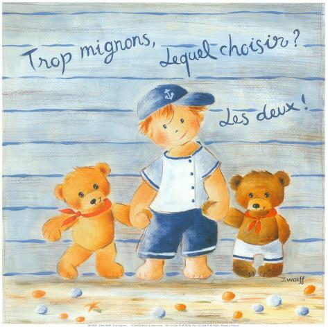 Trop Mignons, Lequel Choisir? Art Print
