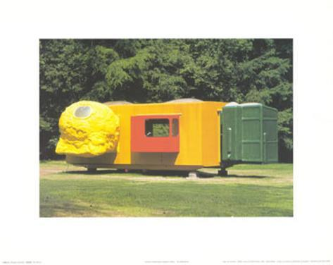 Mobile Home for Kroller Muller, c.1995 Lámina