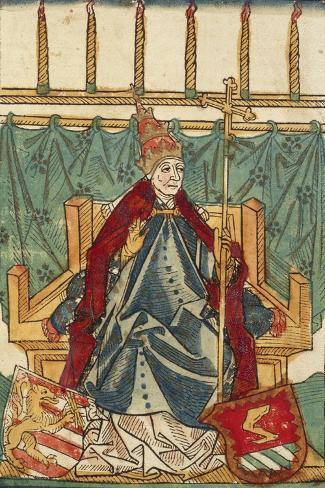 Portait of Antipope John XIII Lámina giclée