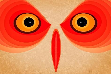 Owl Giclee Print