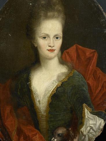 Anna Margaretha Van Petcum. Echtgenote Van Johan Arnold Zoutman Art Print