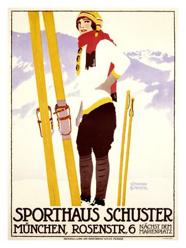 Sporthaus Schuster Giclee Print