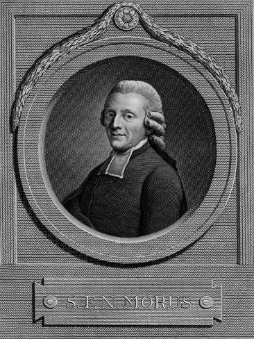 S.F.N. MORUS, 1793 Giclee Print