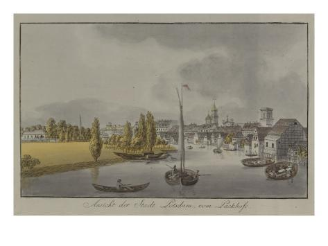 View of Potsdam, C. 1796 Giclee Print