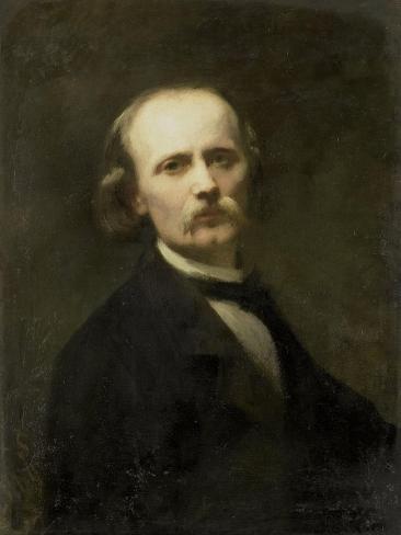 Self-Portrait, Johann Georg Schwartze. Art Print