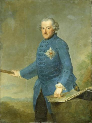 Frederick Ii the Great of Prussia, C.1770 Lámina giclée