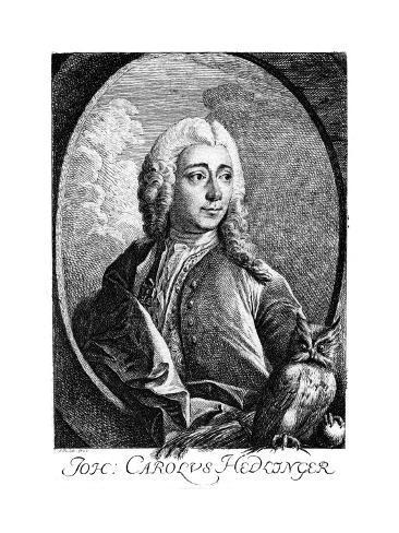 Johann Hedlinger Stampa giclée
