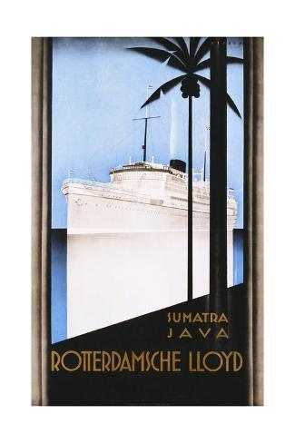 Rotterdamsche Lloyd Poster Giclee Print