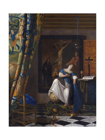 The Allegory of the Faith Lámina giclée