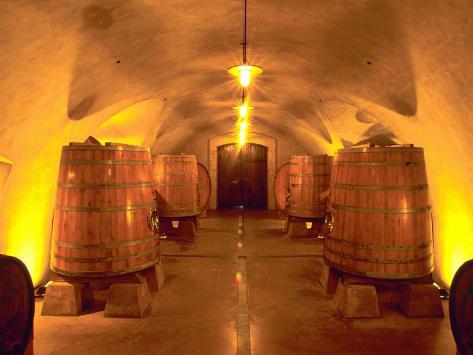 Wine Caves at the Viansa Winery, Sonoma County, California, USA Photographic Print
