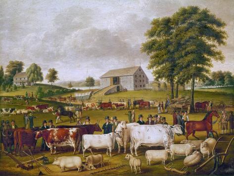 Country Fair, 1824 Giclee Print