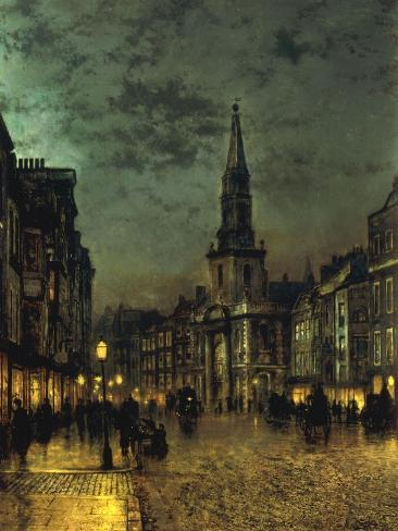 Blackman Street, Borough, London, 1885 Giclee Print